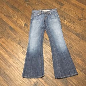 Citizens for humanity boot cut blue Jeans